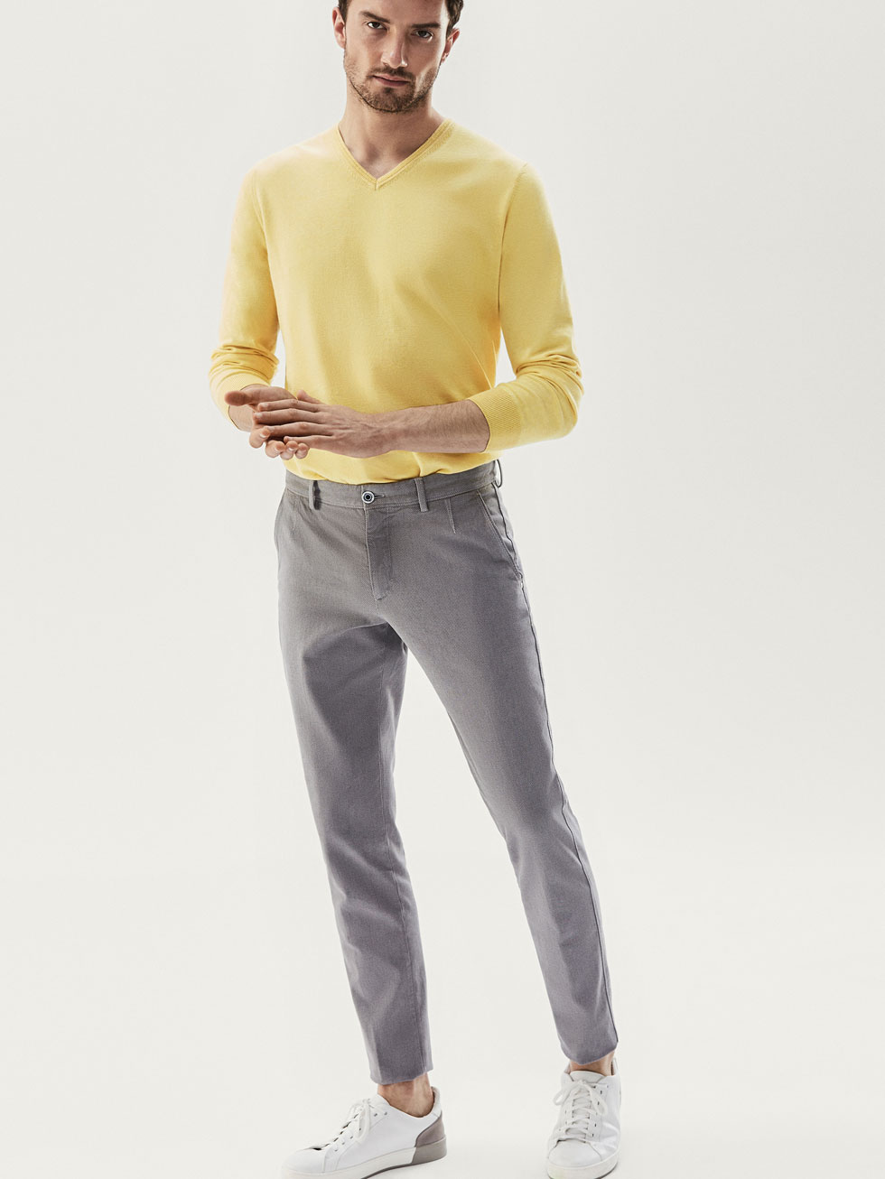 Chinos - Trousers - MEN - Massimo Dutti