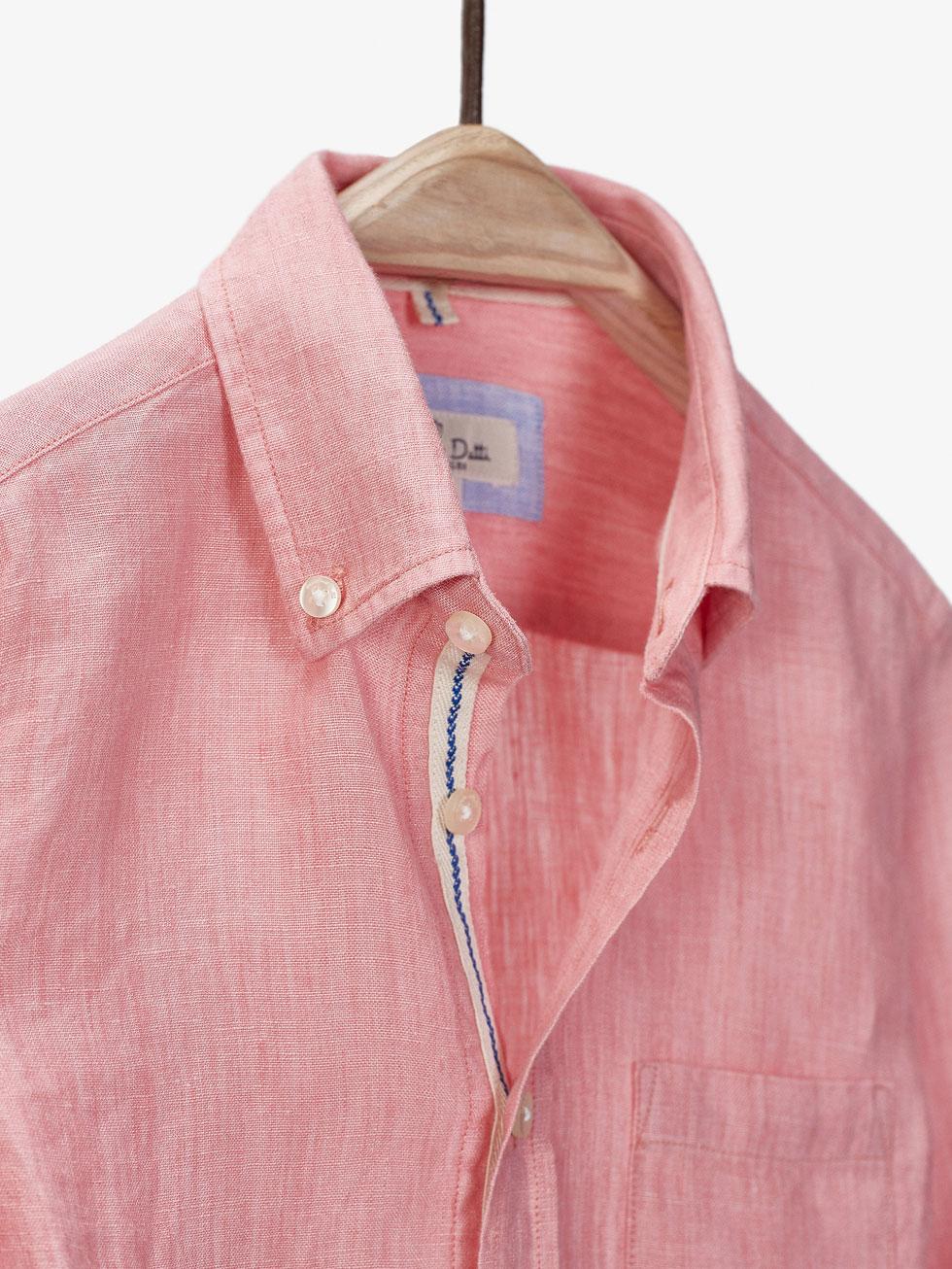 Mens Long Sleeve Linen Shirts