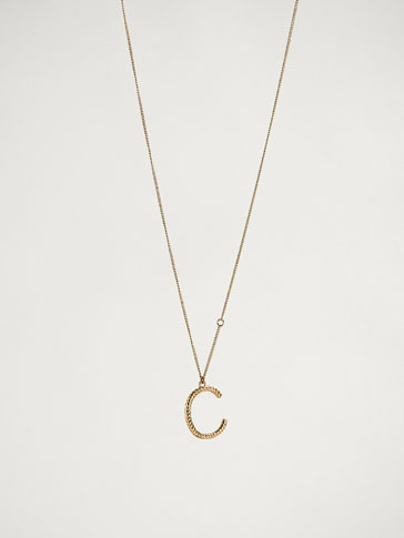 ONLINE EXCLUSIVE LETTER C NECKLACE