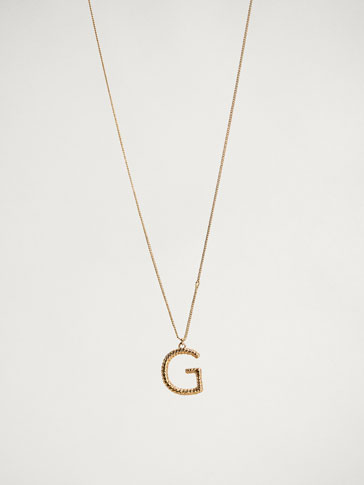 ONLINE EXCLUSIVE LETTER G NECKLACE