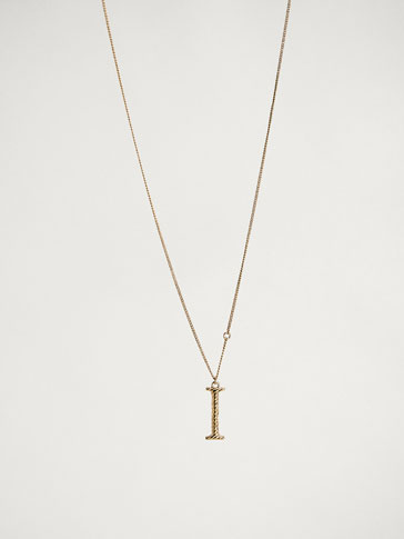ONLINE EXCLUSIVE LETTER I NECKLACE
