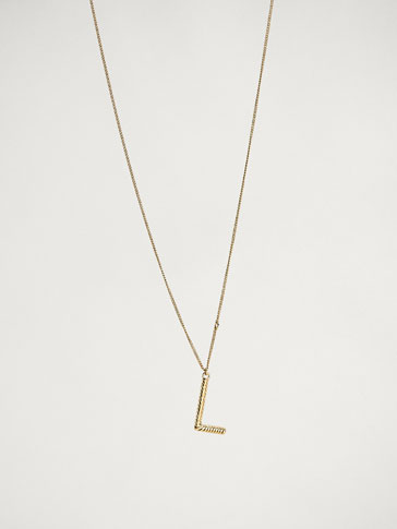 ONLINE EXCLUSIVE LETTER L NECKLACE