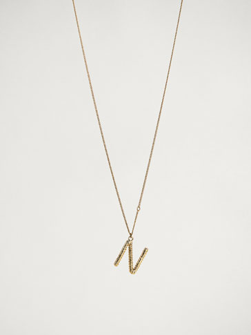 ONLINE EXCLUSIVE LETTER N NECKLACE