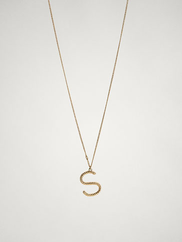 ONLINE EXCLUSIVE LETTER S NECKLACE