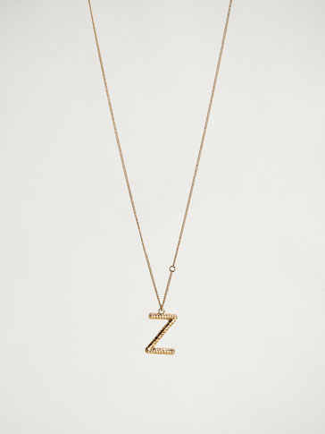 ONLINE EXCLUSIVE LETTER Z NECKLACE