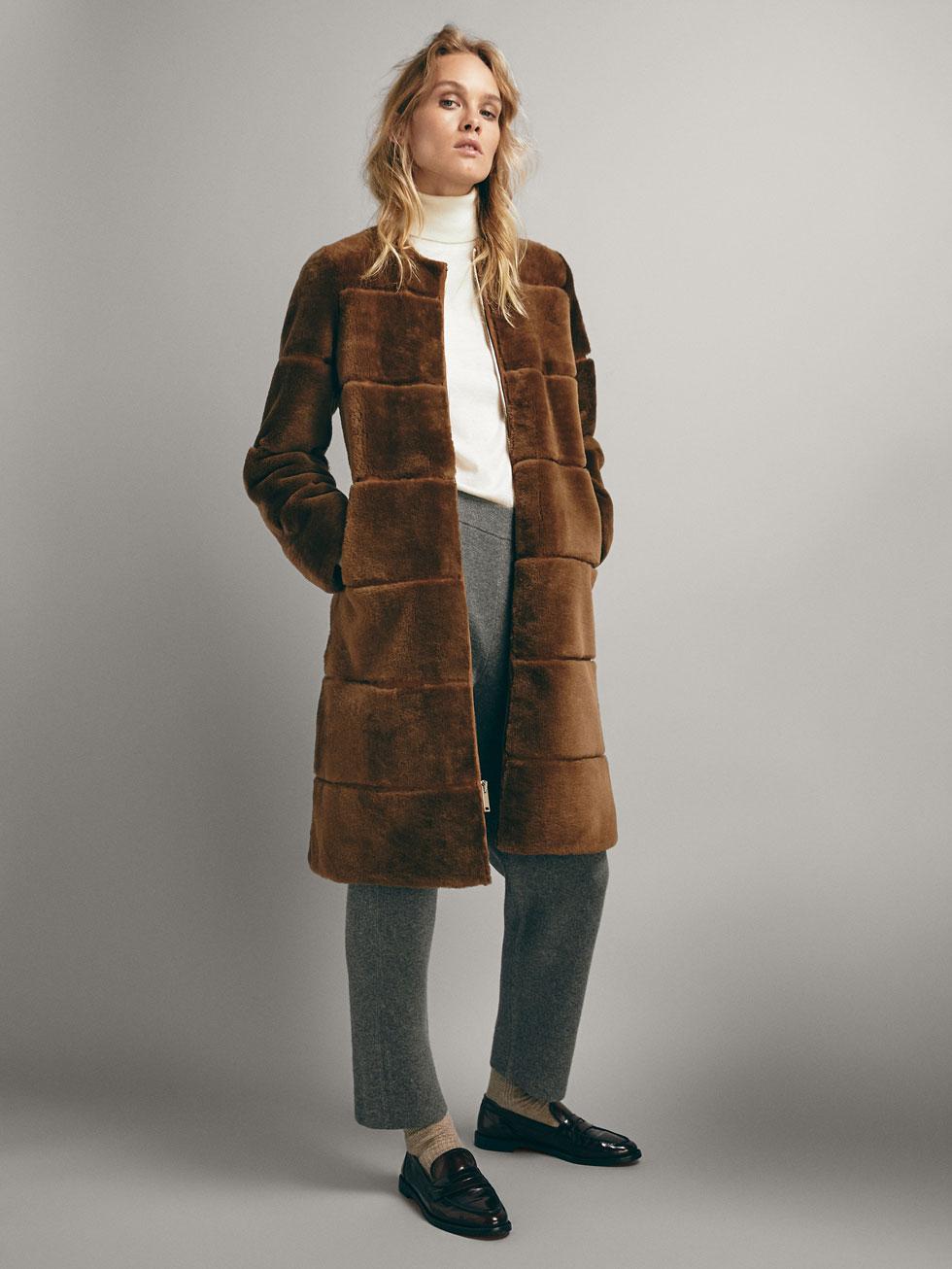 Dutti Collection En Massimo Femmes Blousons Cuir Vestes 5qg7w xBordeWC