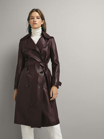 NAPPA TRENCH COAT WITH BELT