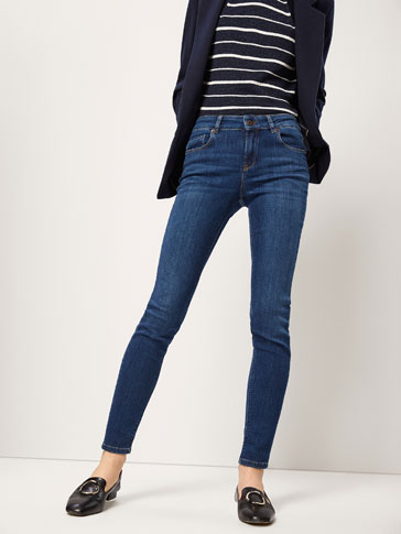 PANTALONI JEANS BLU SUPERSKINNY FIT
