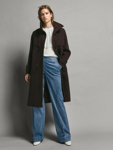 LIMITED EDITION BOOT-CUT FIT CORDUROY TROUSERS