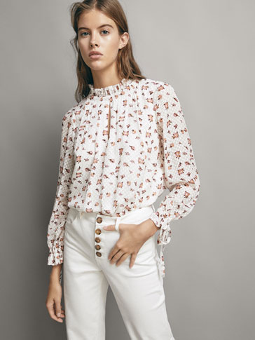 BLUSA, FIL COUPÉ, LORE-ESTANPATUAREKIN