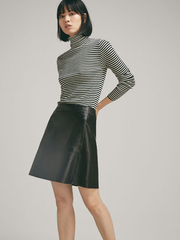 NAPPA SKIRT WITH SEAMS