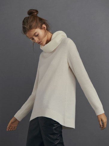 OVERSIZED 100% CASHMERE SWEATER