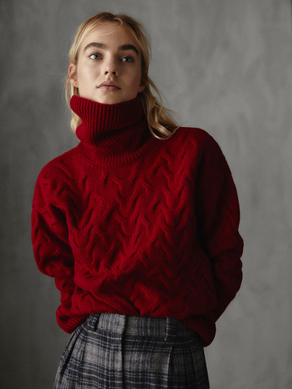 Sale alerts for  WINTER CAPSULE CABLE-KNIT SWEATER - Covvet