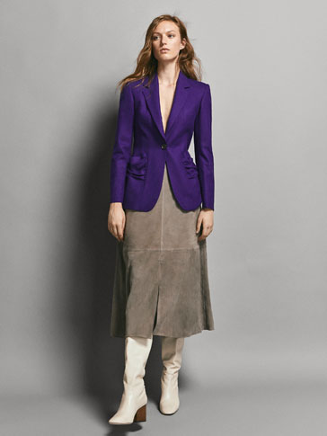 BLAZER LLANA FRANEL·LA SLIM FIT LIMITED EDITION
