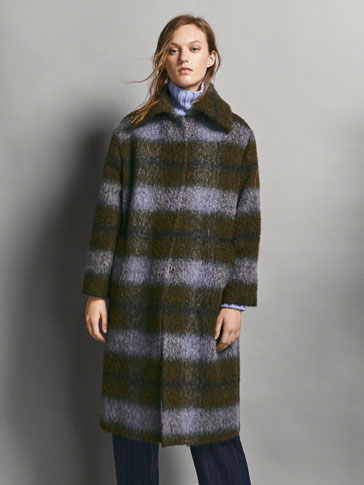 LIMITED EDITION CHECK COAT