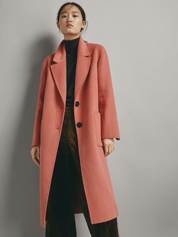 WOOL COAT WITH VENTS