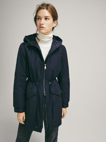 COMBINED HOODED PARKA