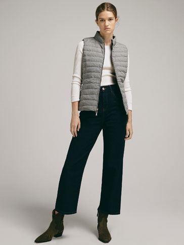 DOUBLE-SIDED DOWN PUFFER GILET