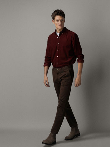 CHINO BROEK REGULAR FIT