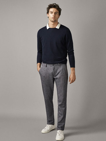 LIMITED EDITION KNIT CHINO TROUSERS