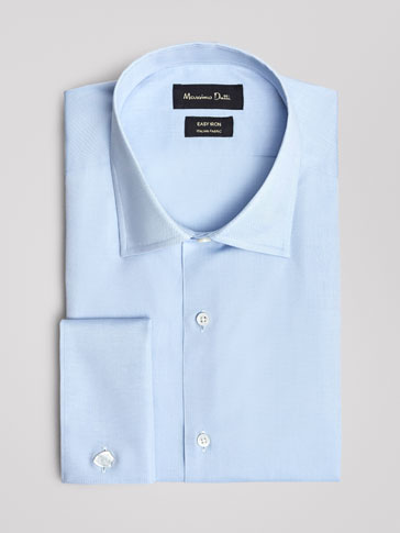 CHEMISE UNIE OXFORD TAILORED FIT EASY IRON