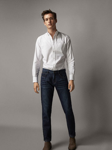 CAMISA ALGODÃO OXFORD REGULAR FIT