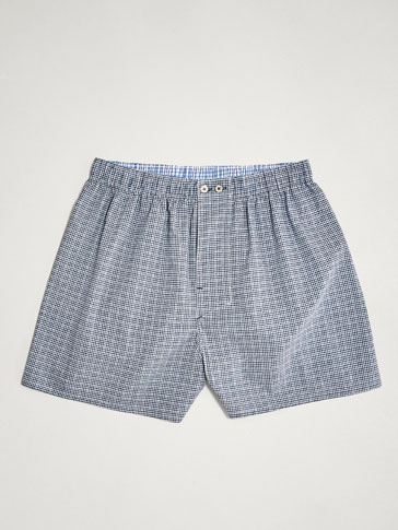 GINGHAM CHECK AND POLKA DOT PRINT BOXERS