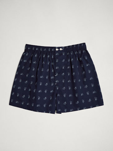 BICYCLE PRINT BOXERS