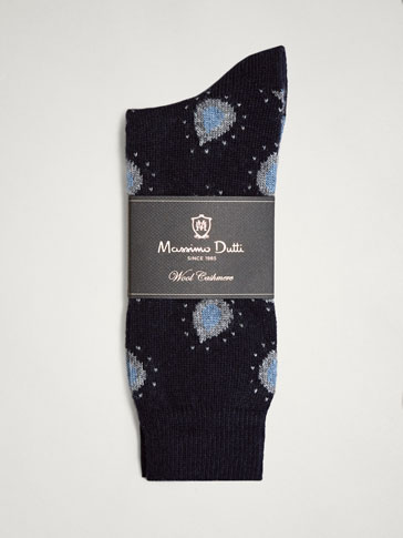 LIMITED EDITION PAISLEY SOCKS