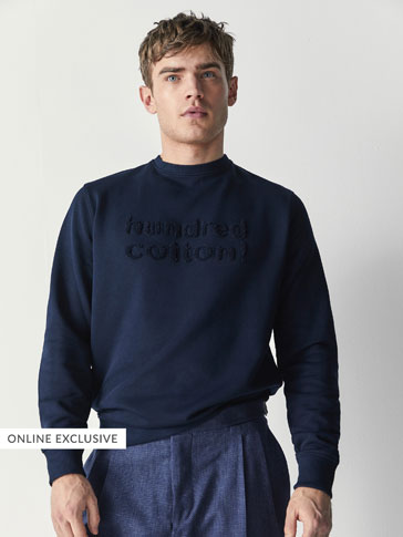 'HUNDRED COTTON' SWEATSHIRT
