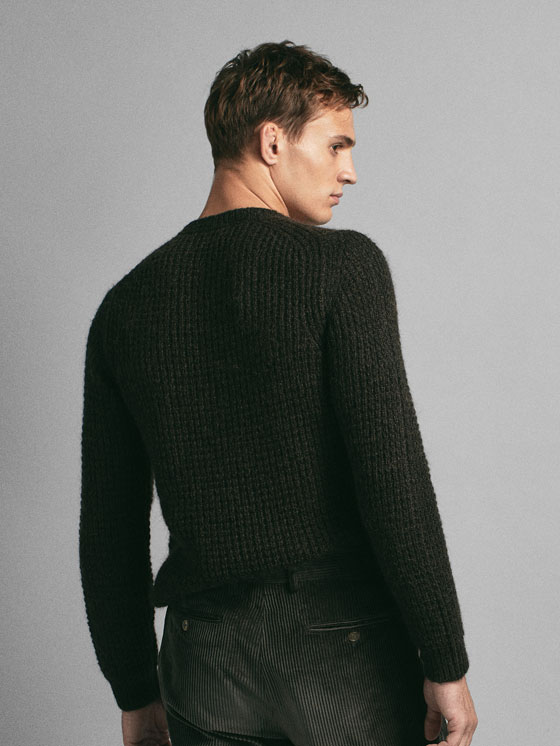 Massimo Dutti - PULL TEXTURÉ EN MAILLE LIMITED EDITION - 2