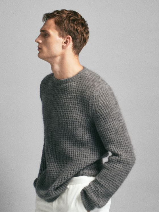 Massimo Dutti - PULL TEXTURÉ EN MAILLE LIMITED EDITION - 4