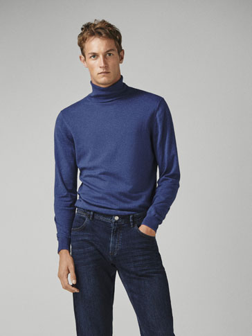 PLAIN COTTON/CASHMERE/SILK SWEATER