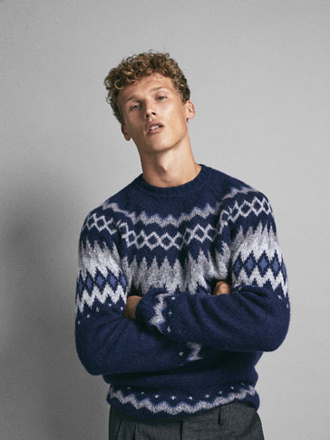 LIMITED EDITION JACQUARD WOOL SWEATER