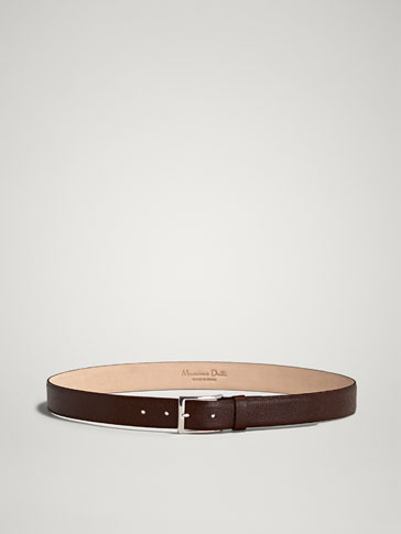 LIMITED EDITION EMBOSSED LEATHER BELT