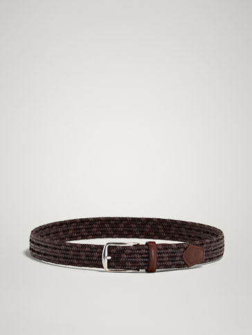 ELASTIC LEATHER BELT