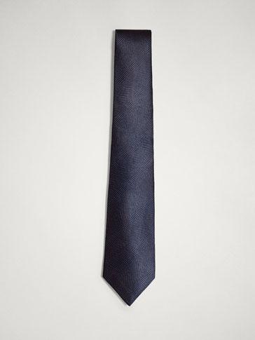 ربطة عنق حرير هيكل متموج PERSONAL TAILORING