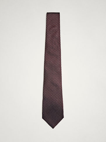 PERSONAL TAILORING TEXTURED SILK TIE