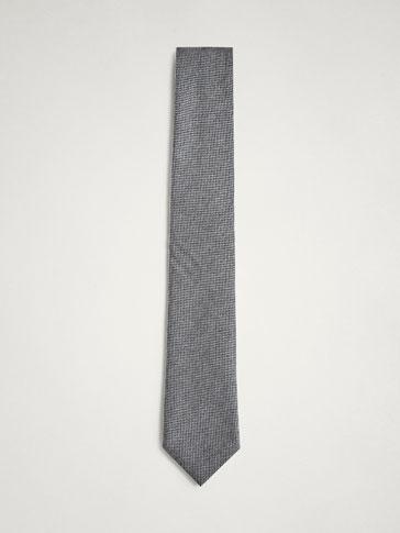 ربطة عنق صوف/حرير هيكلية PERSONAL TAILORING