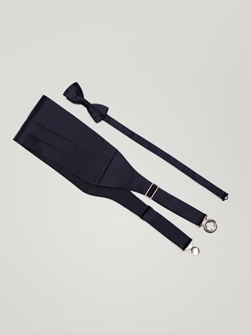 BOW TIE AND CUMMERBUND SET
