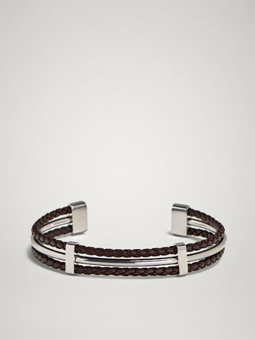 RIGID TRIPLE-STRAND BRACELET