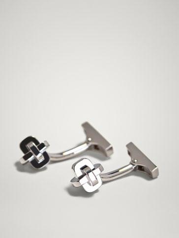 Knot Cufflinks by Massimo Dutti