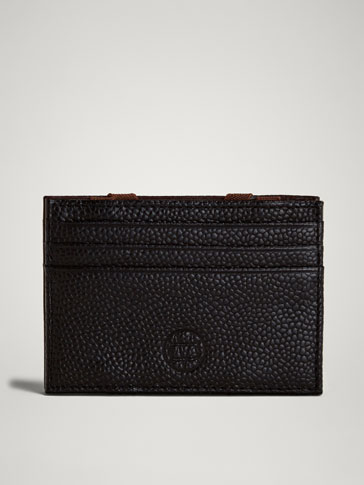 PORTATESSERE MAGIC WALLET PELLE INCISA LIMITED EDITION