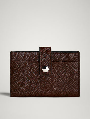 LIMITED EDITION EMBOSSED LEATHER CARD HOLDER