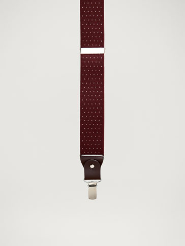 BRETELLES CUIR POIS PERSONAL TAILORING