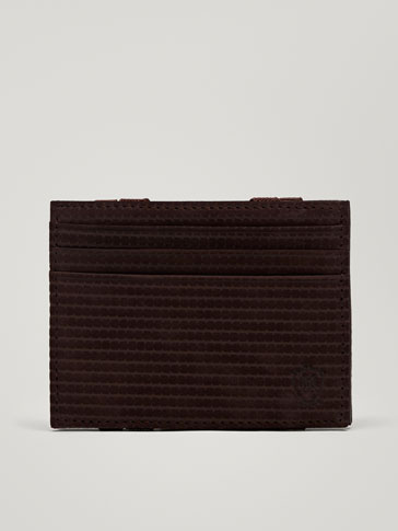 MAGIC WALLET IN PELLE LASER