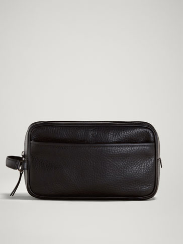 LIMITED EDITION MONTANA LEATHER TOILETRY BAG
