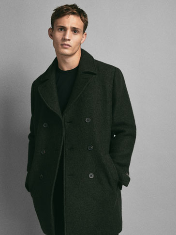 LIMITED EDITION DOUBLE-BREASTED WOOL COAT