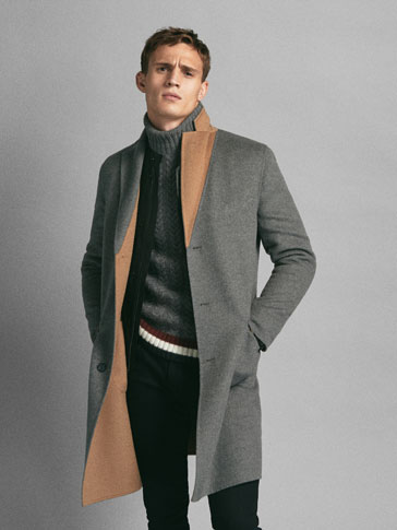 LIMITED EDITION REVERSIBLE WOOL COAT