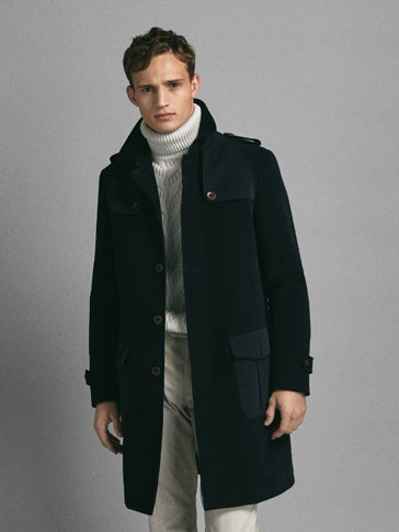 LIMITED EDITION COTTON MOLESKIN TRENCH COAT